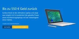 Surface Book: Microsoft zahlt bis zu 550 Euro für altes Gerät