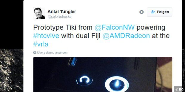 Antal Tungler ist Technical Evangelist bei AMD Graphics