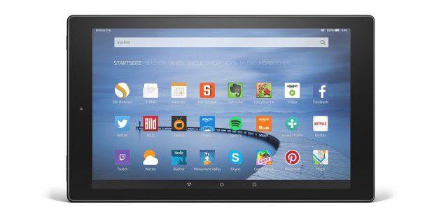 Tablet mit starkem Preis-Leistungs-Verhältnis: Amazon Fire HD 10