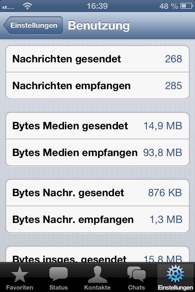 795d0162399e1 Vergrößern Abgesehen von der Jahrespauschale außerhalb von iOS fallen fürs  Senden und Empfangen keine Kosten an.