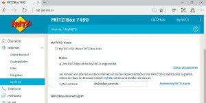 MyFritz: Privat-Cloud mit der Fritzbox einrichten