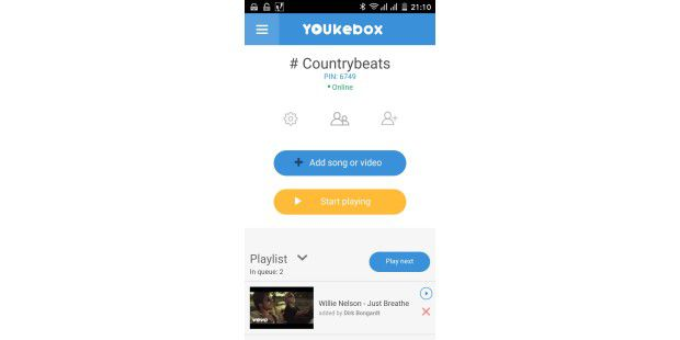 Jukebox for Youtube