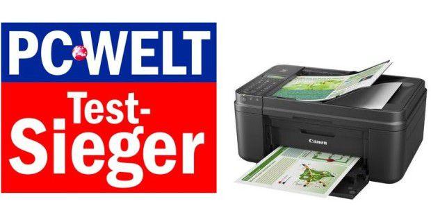 Derzeitiger Testsieger und Peis-Leistung-Sieger bei den Multifunktionsgeräten bis 100 Euro: Canon Pixma MX495