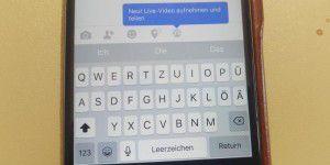 Facebook startet Live-Videos: Streaming in Echtzeit