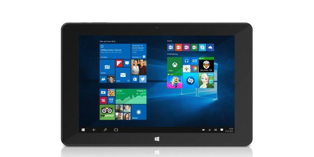 Full-HD-Tablet mit Windows 10 und Tastatur: Trekstor Surftab Duo W1 im Test