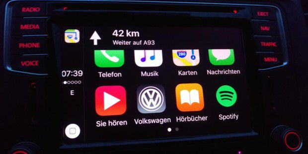 Apple Carplay im T6