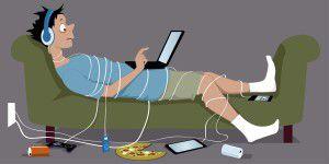 Deutsche: Lieber Internet als Alkohol