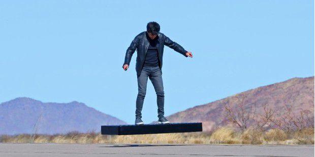 Hoverboard mit 272 PS kostet jetzt 5.000 Dollar weniger