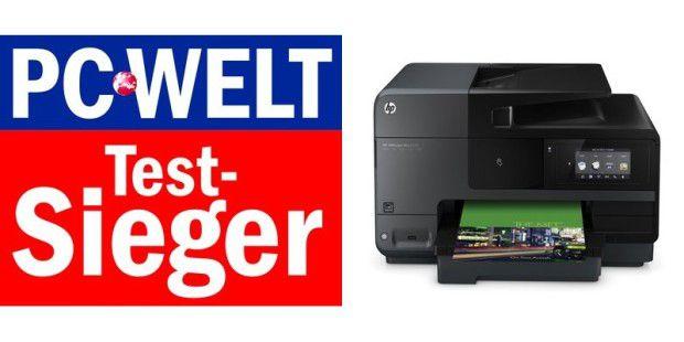 HP Officejet Pro 8620 - aktueller Spitenreiter bei Tinten-Multifunktionsgeräten über 100 Euro.