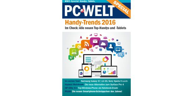 PC-WELT Special 1/2016: Handy-Trends 2016