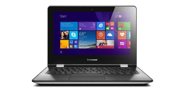 Günstiges Convertible-Notebook im Test: Amazon-Bestseller Lenovo Yoga 300