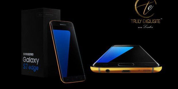 Samsung Galaxy S7 Edge in der Luxus Variante von Truly Exquisite