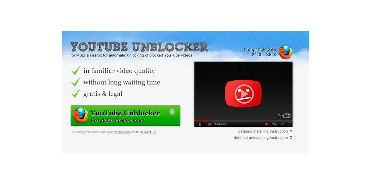 Mozilla schmeißt beliebtes YouTube-Addon Unblocker raus - PC-WELT