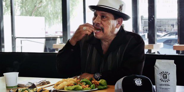 3 Minuten Spannung pur: Danny Trejo futtert Tacos