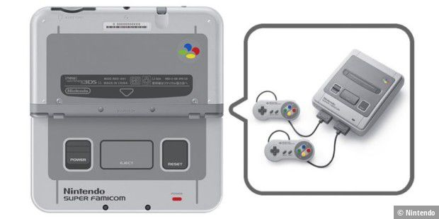 3DS LL - Super Famicom Edition, Cover