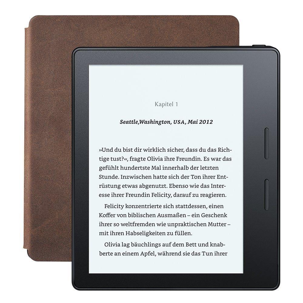 amazon kindle oasis alle infos zum neuen ebook reader pc welt. Black Bedroom Furniture Sets. Home Design Ideas