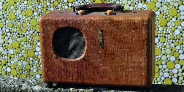 do it yourself bluetooth radio im retro look pc welt. Black Bedroom Furniture Sets. Home Design Ideas