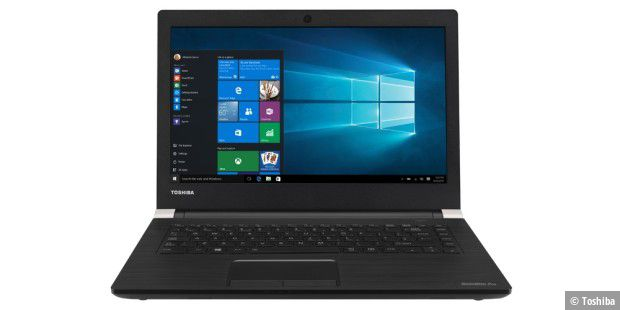 Toshiba Satellite Pro A40: Business-Notebook mit 14-Zoll-Display im Test