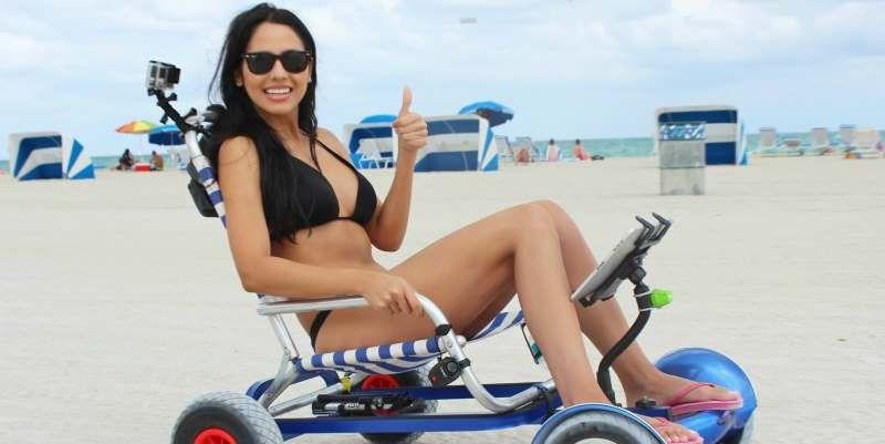 f r 69 dollar wird ein hoverboard zum strand buggy pc welt. Black Bedroom Furniture Sets. Home Design Ideas