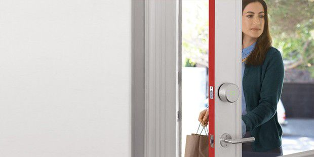 Smart Lock von August ist mit Apples Home Kit kompatibel