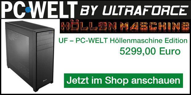 UF - PC WELT Höllenmaschine Edition