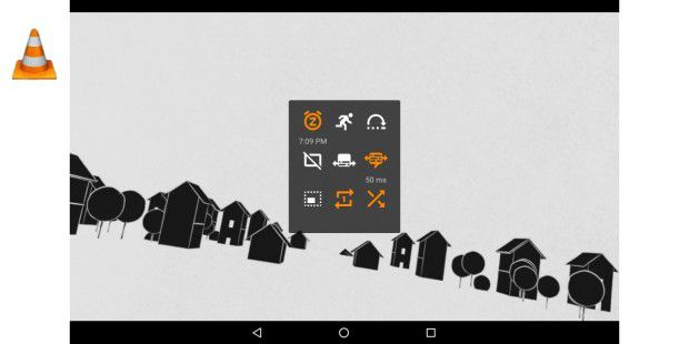 VLC for Android 2.0 Optionen