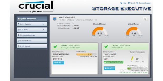 Neuer Download: Crucial Storage Executive