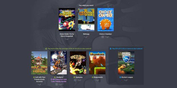 Humble Bundle mit Rocket League