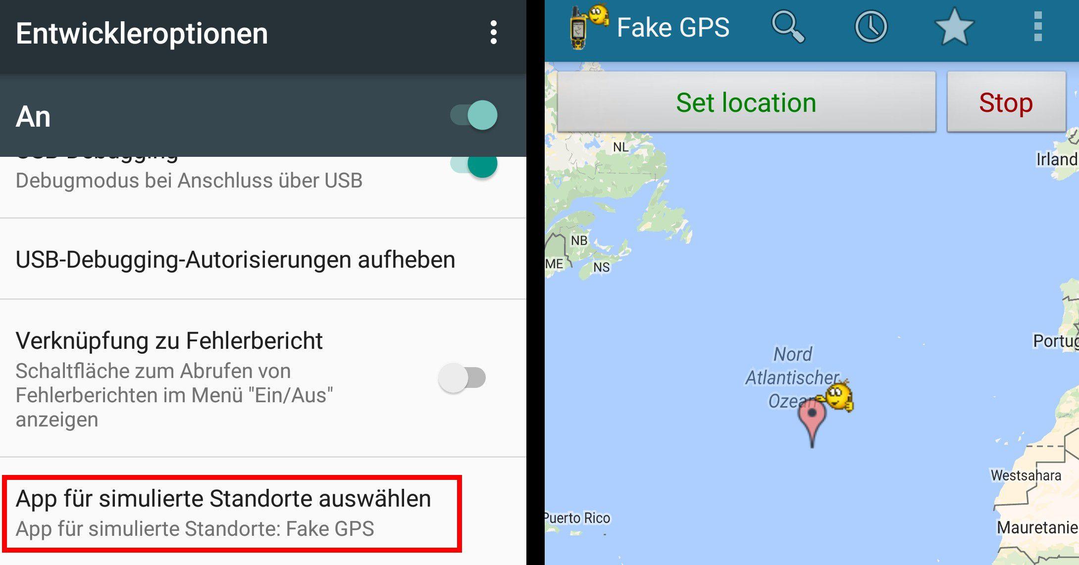 tipps Verschleiern Sie den wahren Standort Ihres Android Smartphones .