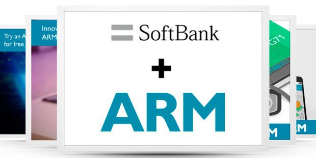 Softbank kauft ARM.