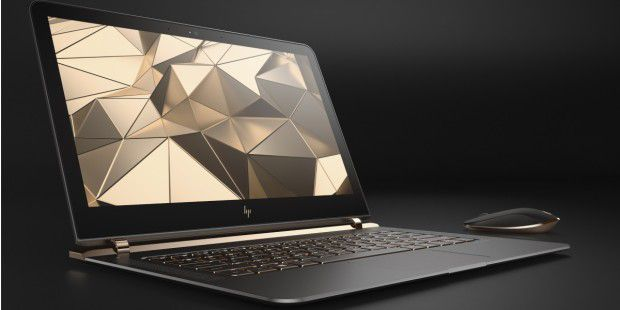 Superflaches Notebook im Test: HP Spectre 13