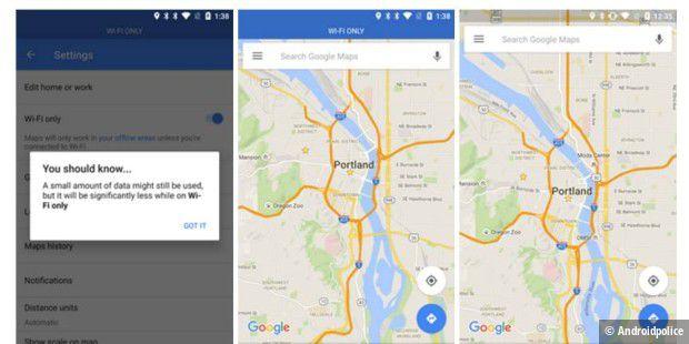 Google Maps bekommt WLAN-only-Modus und bessere ÖPNV-Informationen ...