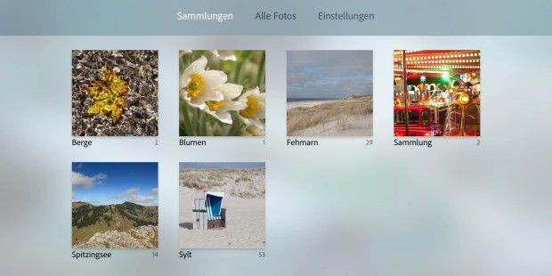 Adobe bringt Lightroom aufs Apple TV