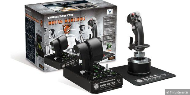 Hands On Throttle And Stick: Thrustmaster Hotas Warthog