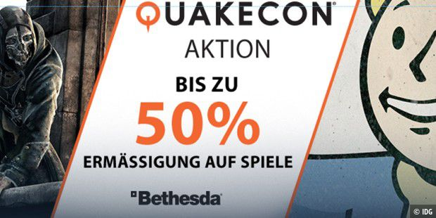 Steam-Sale zur Quakecon
