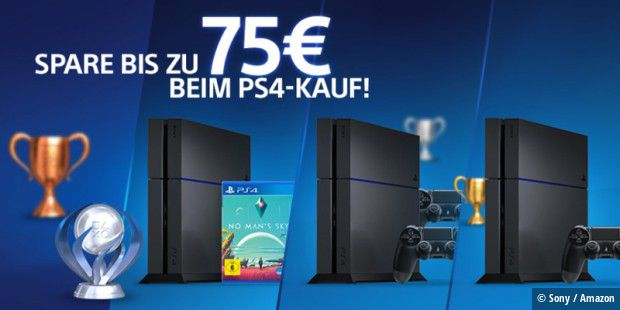 Playstation-Bonus-Aktion auf Amazon.de
