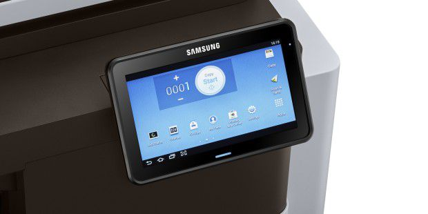 Touchscreen des Samsung Multixpress M5360RX