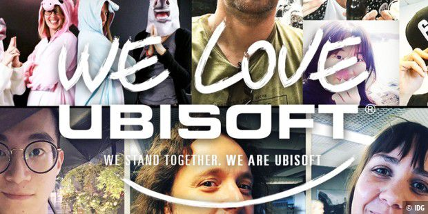 We Love Ubisoft - Aktion