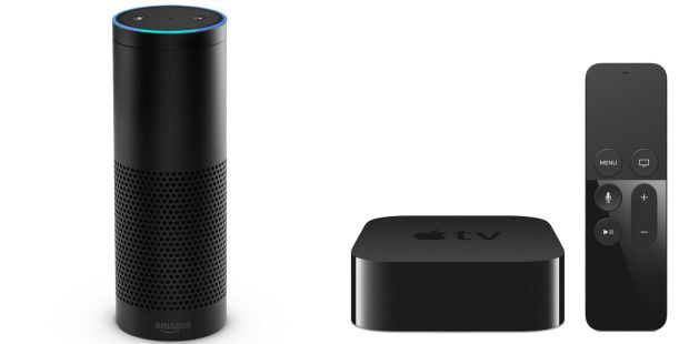 Amazon Echo vs. Apple TV