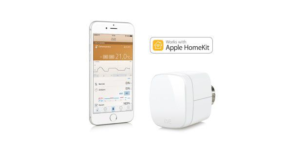 Elgato Eve Thermo ist mit Apple HomeKit kompatibel