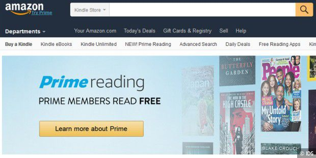 Amazon erweitert in den USA das Prime-Angebot um Prime Reading
