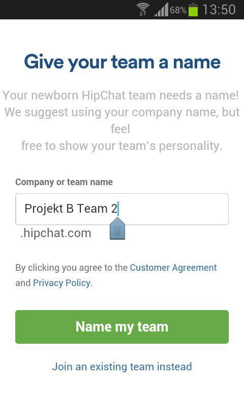 Chat-Kumpel-Netz