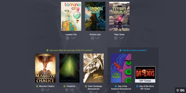 Die Spiele des neuen Humble Day of the Devs 2016 Bundle