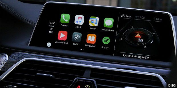 carplay iphone anbindung im auto kann kaufentscheidung. Black Bedroom Furniture Sets. Home Design Ideas