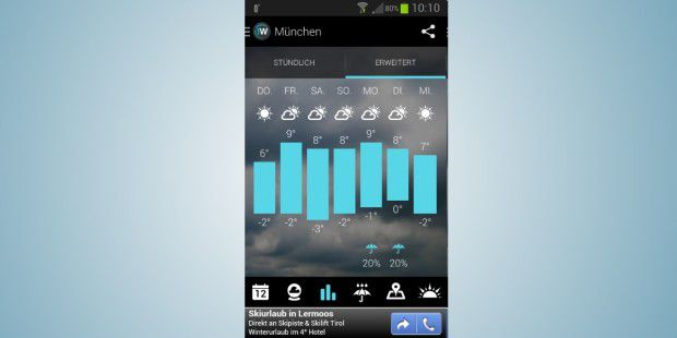 1Weather: Wetter-App