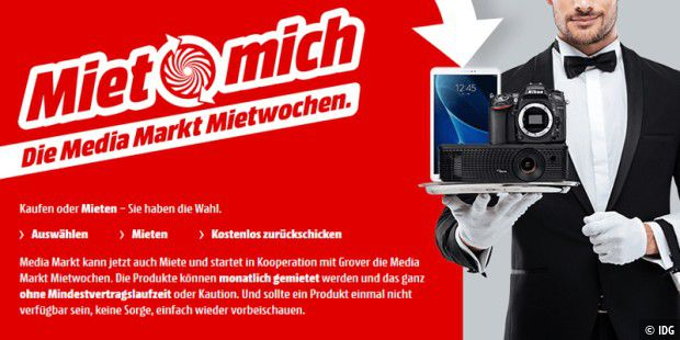 Media Markt Mietwochen Aktion