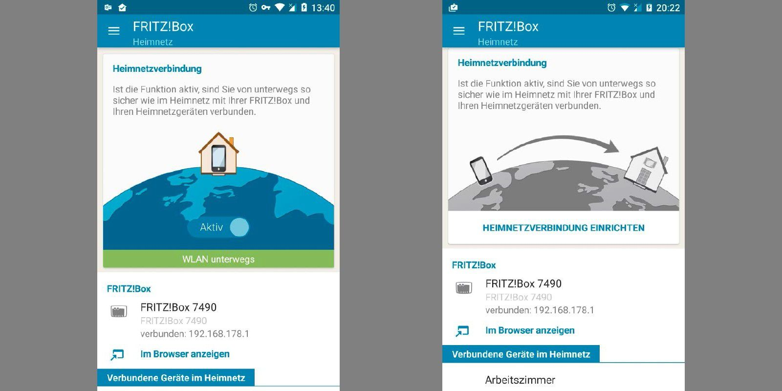 Fritzbox Heimnetzzugang Per App Einrichten Pc Welt