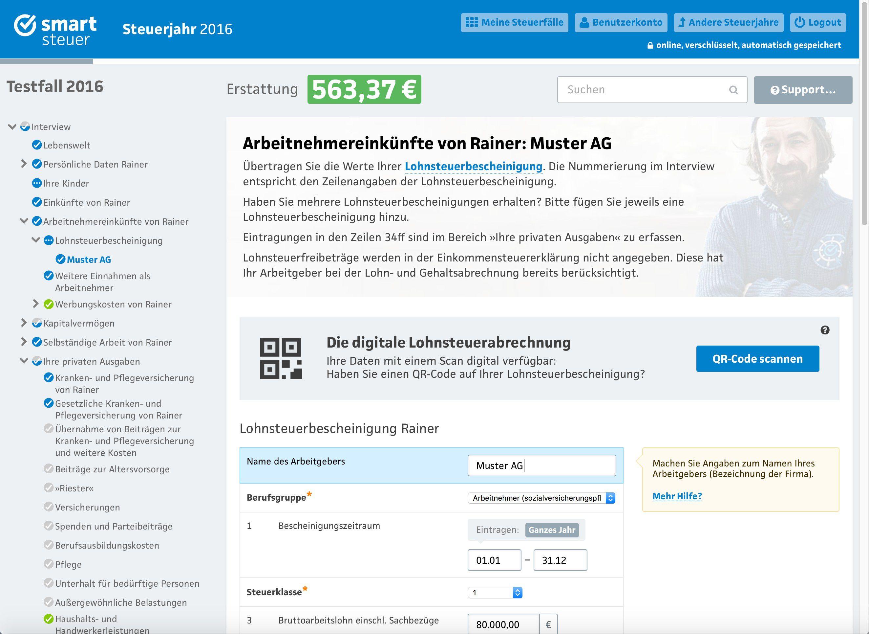 Smartsteuer Musterbriefe : Die beste steuererklärung für den mac macwelt
