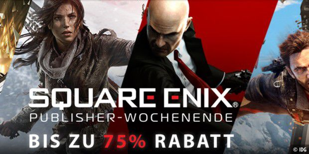 Square Enix Publisher Sale auf Steam