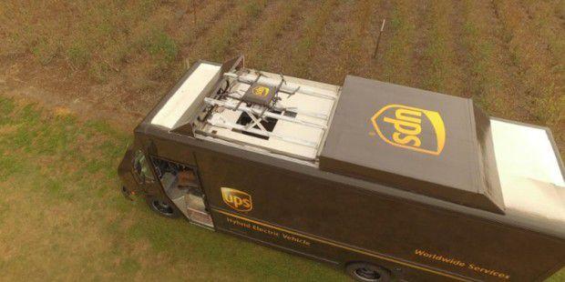 UPS testet Paketdrohnen - und stößt auf kleine Probleme